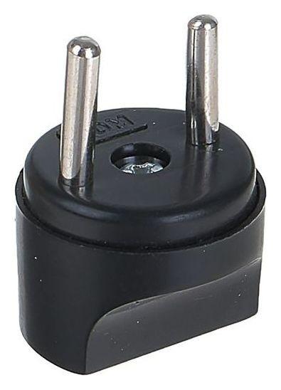 Переходник Tdm, 16 A, 250 В, тип с1-в - тип A/f, круглый, черный  TDM Еlectric