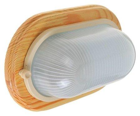 Светильник для бани/сауны Italmac Termo 60 20 18, 60 Вт, Ip54, цвет береза, до +130°c Italmac