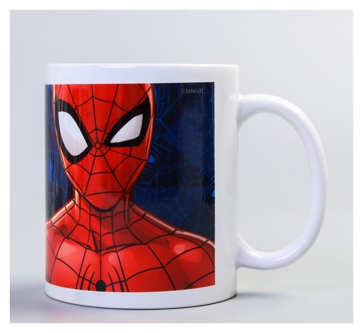 """Кружка """"Супергерой"""", человек-паук, 350 мл  Marvel"""