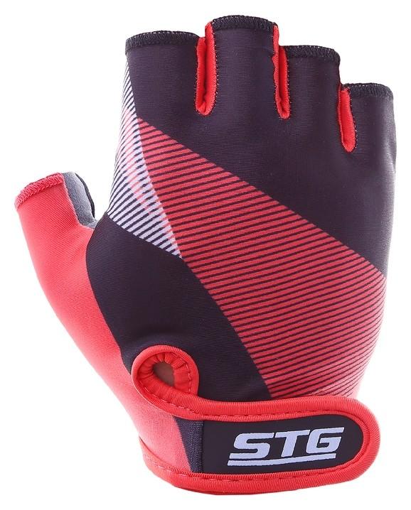 Перчатки велосипедные STG х87912, размер L  STG