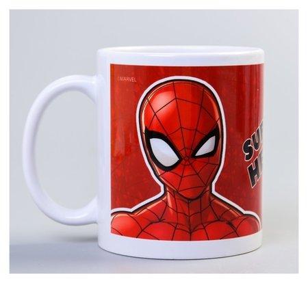"""Кружка """"Super Hero"""", человек-паук, 350 мл  Marvel"""