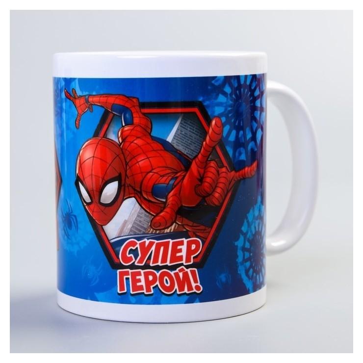 """Кружка """"Супер герой!"""", человек-паук, 350 мл"""