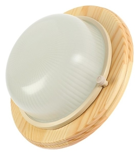 Светильник накладной Ecola, Gx53, Ip65, 220в, 220х84 мм, матовый, цвет клен Ecola