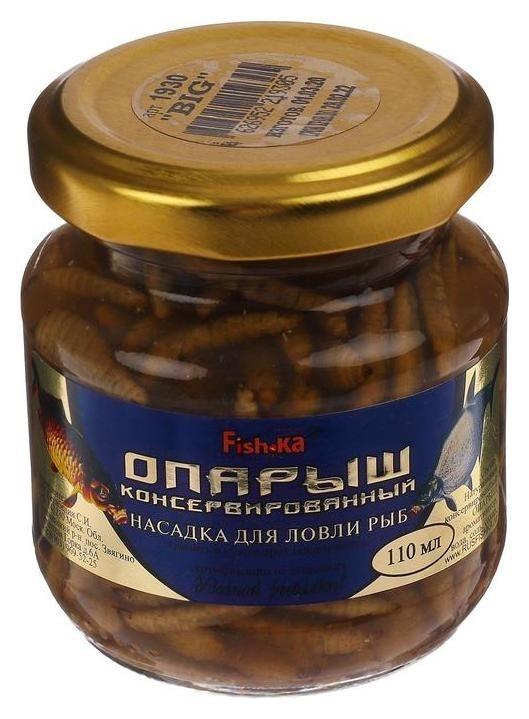 Насадка опарыш Big, натуральный консервированный, 110 мл  Fish-ka