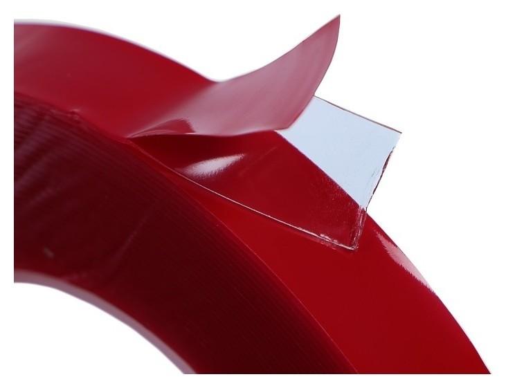 Клейкая лента Cartage, прозрачная, двусторонняя, акриловая, 6 мм X 5 м  Cartage