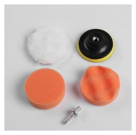 Набор кругов для полировки кузова Torso, 75 мм, 5 предметов  Torso