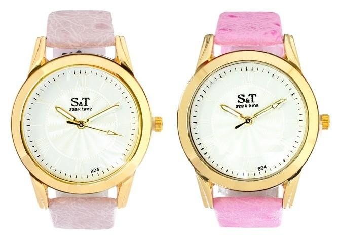 Часы наручные женские Сит, циферблат D=3,6 см, сиреневый NNB