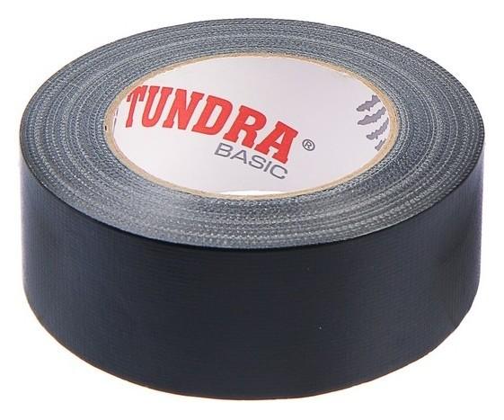 Лента армированная Tundra, 48 мм х 50 м, клейкая, чёрная  Tundra