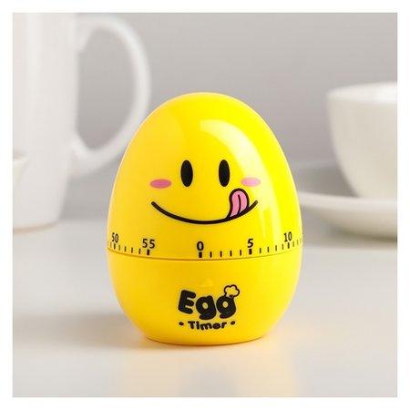 Кухонный таймер (Мех) «Весёлое яйцо», 6,5×8 см  NNB