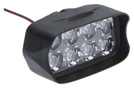 Фара Cветодиодная для мототехники, 8 Led, Ip67, 8 Вт, направленный свет  NNB