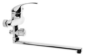 Смеситель для ванны Aquakratosак2804, однорычажный, длина излива 30 см, хром  Aquakratos
