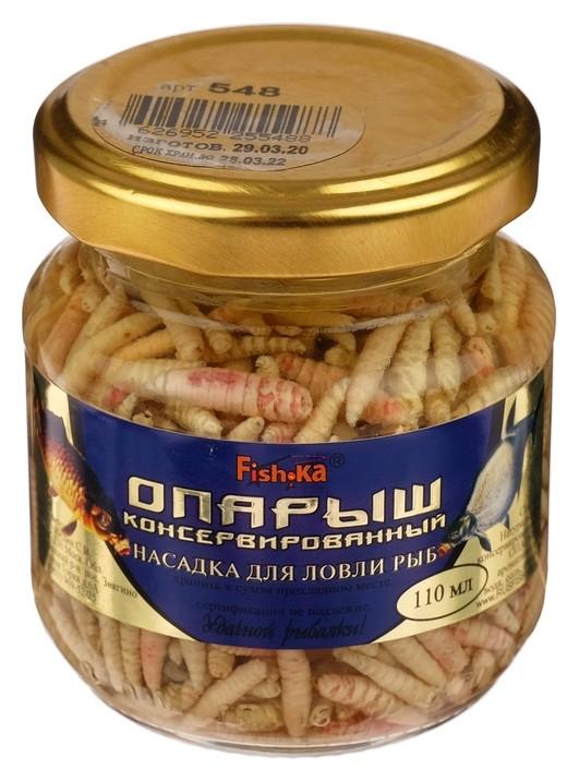 Насадка опарыш натуральный, консервированный, 110 мл  Fish-ka