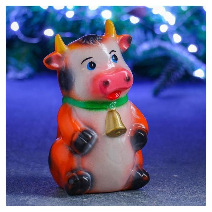 Копилка Символ года: корова с колокольчиком 17х11х9см Хорошие сувениры