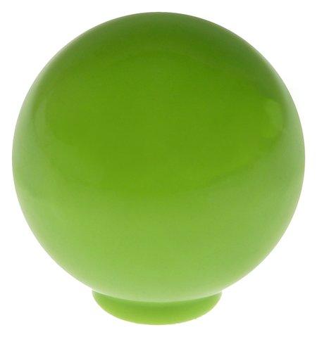Ручка кнопка Plastic 008, пластиковая, фисташковая NNB