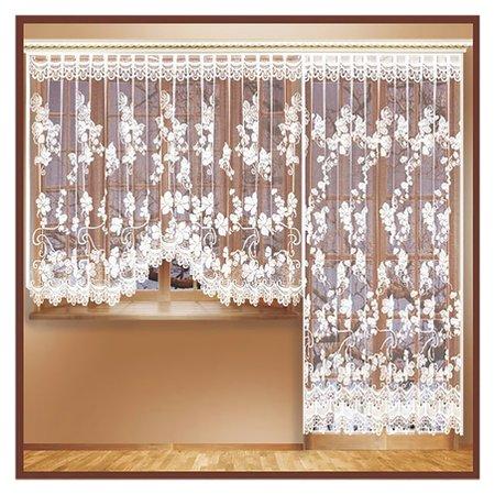 Комплект занавесок для окон с балконной дверью 170х240 см, 255х160 см, разноцветный, 100% п/э  Лента