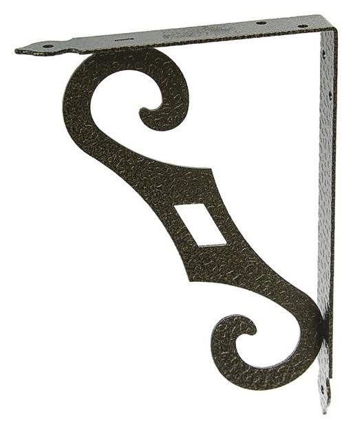 Кронштейн декоративный кд-250-175-s, цвет античная бронза  Noez
