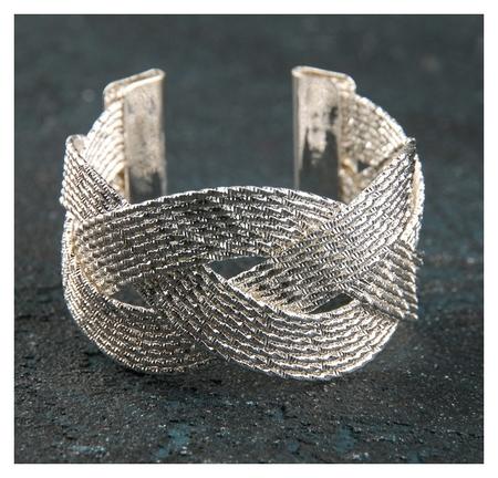 Кольцо для салфетки «Коса» 5х5х3 см  NNB