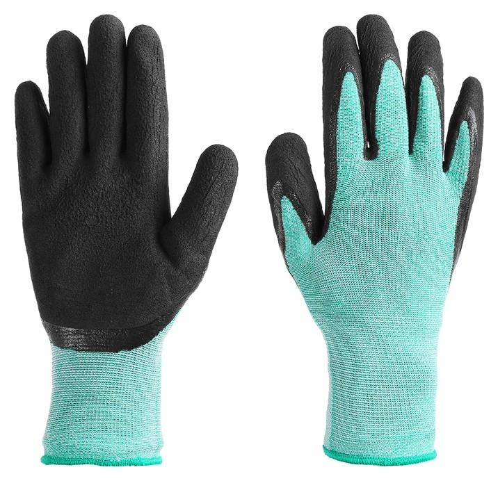 Перчатки рыболовные, резиновые, цвет бирюзовый  Onlitop