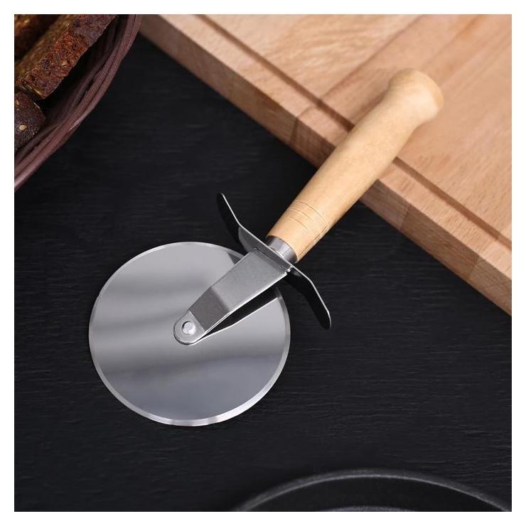 Нож для пиццы и теста «Классик», 19 см  Доляна