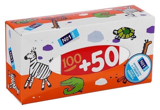 Платочки бумажные Bella №1 по 150 шт Bella