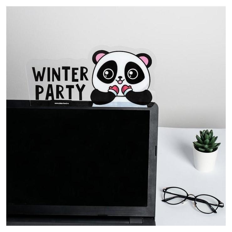 Панель для стикеров на компьютер Winter Party  ArtFox
