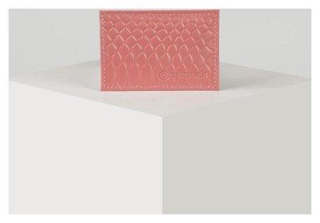 Футляр для карточки, цвет чайной розы  КНР