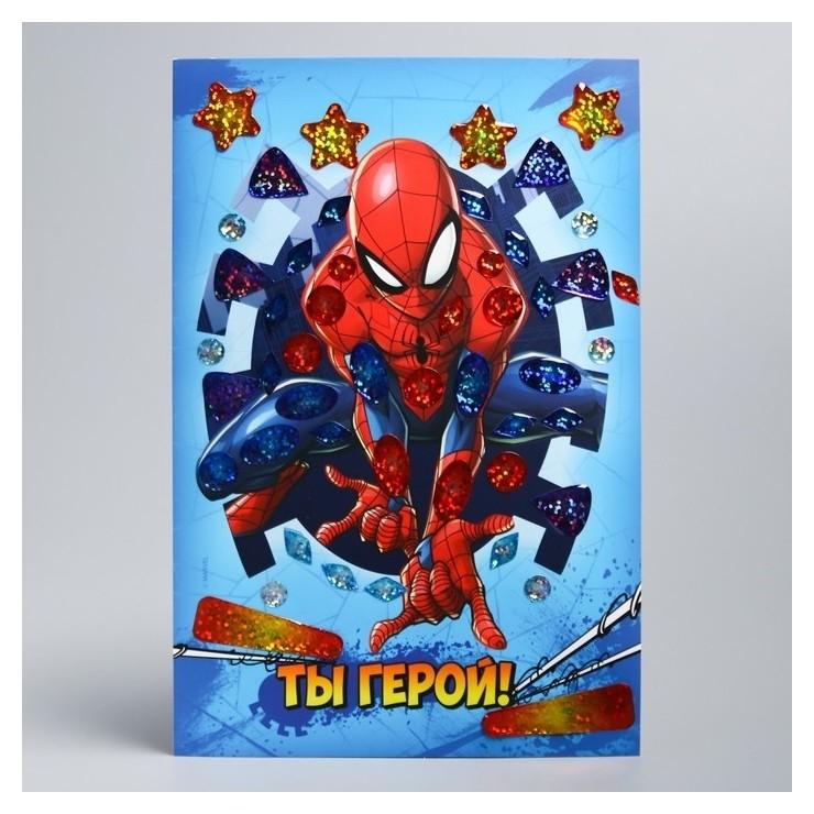 Мозаика гелевыми стразами Ты герой! человек-паук Marvel