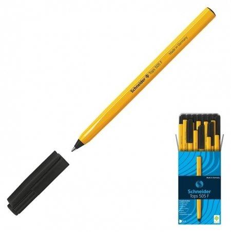 Ручка шариковая Schneider Tops 505 F, узел 0.4 мм, чернила чёрные  Schneider