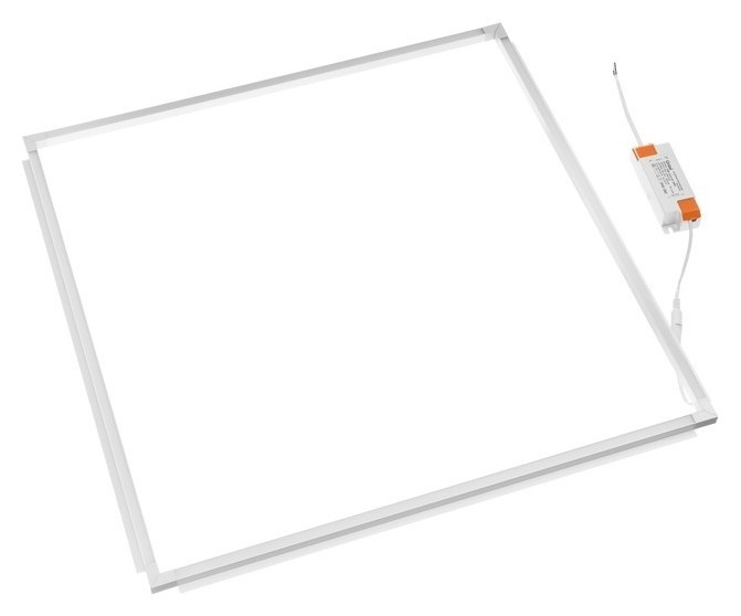 Панель светодиодная рамка Uniel, 38 Вт, 3800 Лм, 4000 К, драйвер в комплекте, 591х591х15 мм Uniel