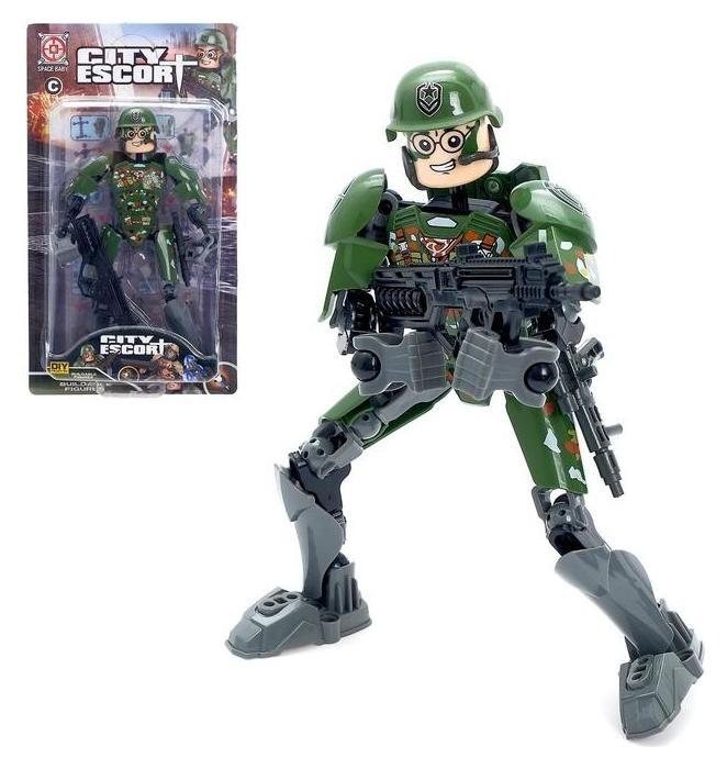 Робот конструктор «Военный» NNB