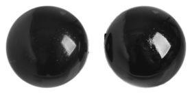 Глаза пришивные, набор 100 шт., размер: 1 шт. 1,2 см