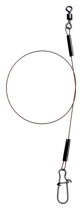 Поводок AFW 7 нитей 0,25 мм, 7 кг, 15 см, 3 штуки в упаковке NNB