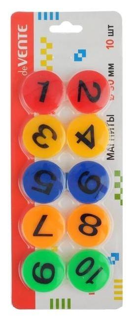 "Магниты для досок 30мм 10шт Devente ""Balls"", карт блистер 6021001  deVente"