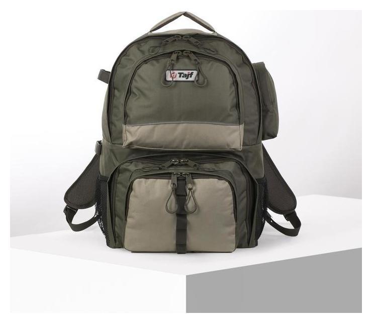 Рюкзак туристический, 50 л, отдел на молнии, 4 наружных кармана, цвет олива Taif