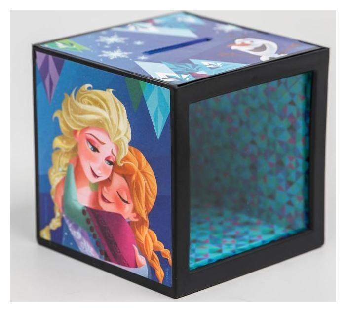 Копилка с фокусом, холодное сердце, 7 х 7 см  Disney