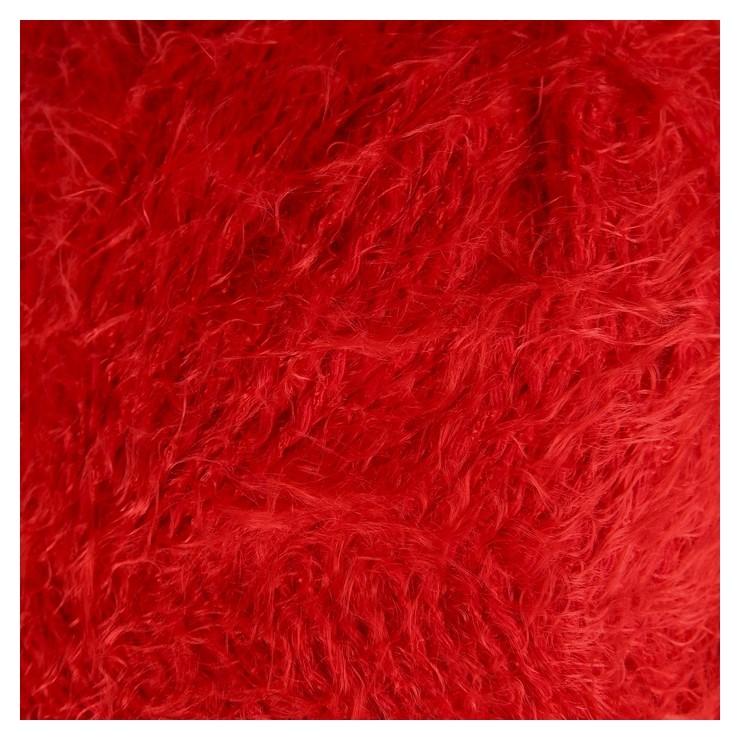 """Пряжа """"Хлопок травка"""" 65% хлопок 35% полиамид 220м/100гр (046 красный)  Камтекс"""