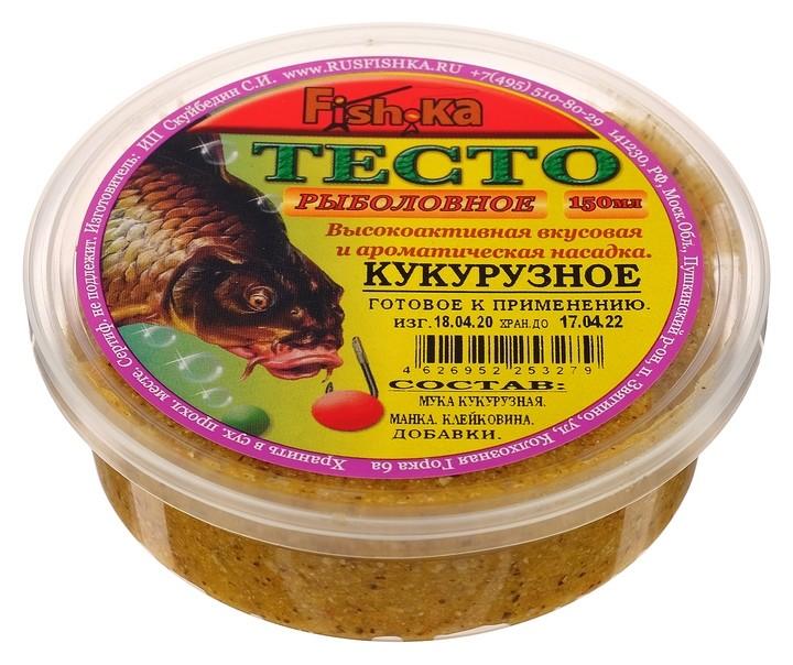 Тесто готовое Fishka кукурузное, 150 мл  Fish-ka