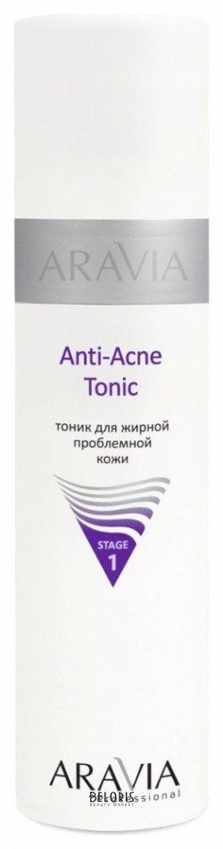 Тоник для лица Aravia Professional Тоник для жирной проблемной кожи Anti-acne tonic