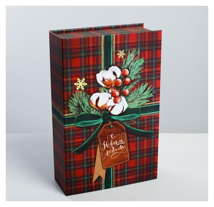 Коробка‒книга «Для тебя в Новый Год» 20 × 12.5 × 5 см Дарите счастье