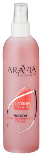 Лосьон перед депиляцией  Aravia Professional