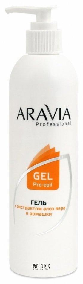 Купить Гель для тела Aravia Professional, Гель перед депиляцией, Россия