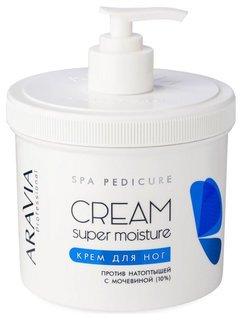 Крем для ног от натоптышей Super moisture  Aravia Professional