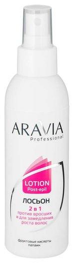 """Лосьон """"2 в 1"""" против вросших волос и для замедления роста волос  Aravia Professional"""