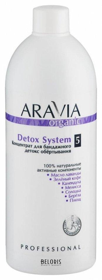 Купить Сыворотка для тела Aravia Professional, Концентрат для бандажного детокс обёртывания Detox system , Россия