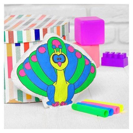 Игрушка-раскраска «Павлин» (Без маркеров) в пакете  Школа талантов