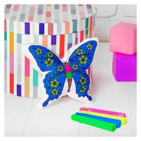Игрушка-раскраска «Бабочка» (Без маркеров) в пакете  Школа талантов
