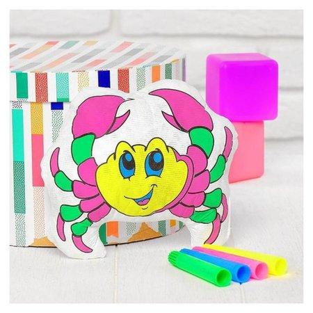 Игрушка-раскраска «Крабик» (Без маркеров) в пакете  Школа талантов