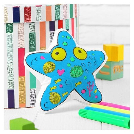 Игрушка-раскраска «Морская звезда» (Без маркеров) в пакете  Школа талантов