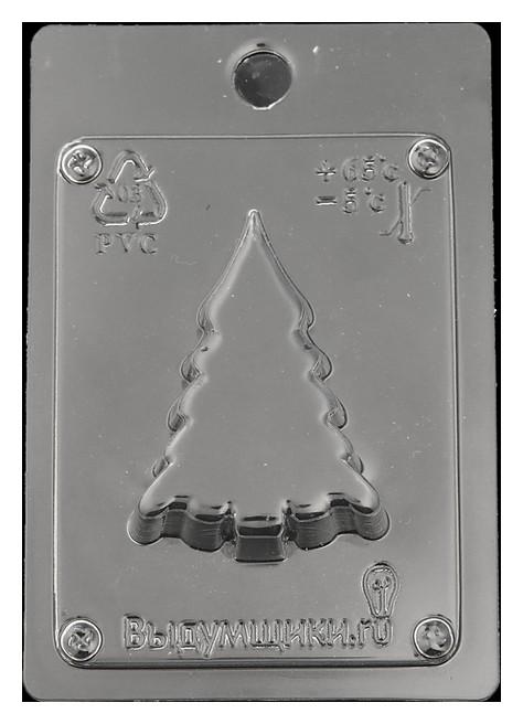 Пластиковая форма для мыла Ёлочка 7х4,5х2 см Выдумщики