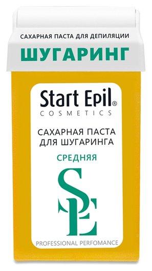 """Сахарная паста для депиляции в картридже """"Средняя""""  Start Epil"""